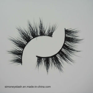 Black Natural Hair Cross Long False Eyelashes pictures & photos