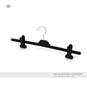 Basic Plastic Pants Hanger, Hot Sale Plastic Hanger, High Quality Plastic Hanger pictures & photos