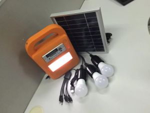 Solar Radio LED Lighting Kits System pictures & photos