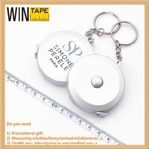 Round Retractable Fabric Meter PVC Fiberglass Mini Measuring Tape (RT-041) pictures & photos