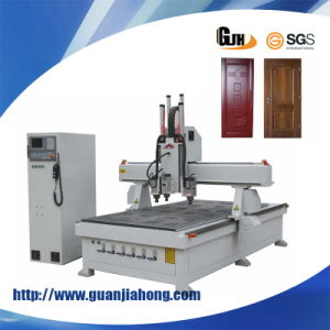 Woodworking Three Spindle Atc CNC Router Machine pictures & photos