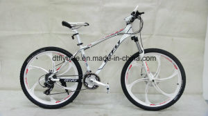 Alloy Frame Mountain Bike, One Piece Wheel Bike, pictures & photos