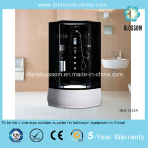 Luxury Tempered Glass Steam Shower Cabin Massage Shower Enclosure (BLS-9822A) pictures & photos