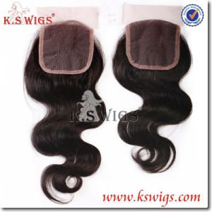New Arrival Virgin Hair Lace Closure Human Hair pictures & photos