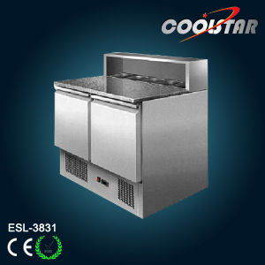 Stainless Steel Refrigerated Counter Saladette (ESL-3831) pictures & photos