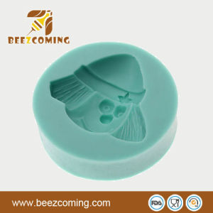 Christmas 3D Old Man-Shped Soap Silicone Mould Decoration