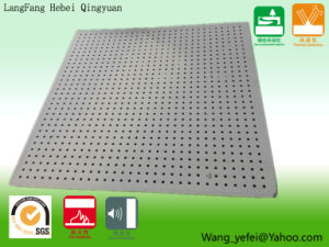 Perforated Calcium Silicate Ceiling Plate for Insulation