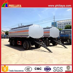Steel Liquid Tank Truck Full Trailer Agricultural Tanker with Drawbar pictures & photos