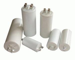 Cbb60 Motor Run Capacitors White Plastic pictures & photos