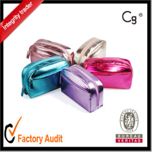 2016 Fashion Candy Color Shiny Glossy Cosmetic Bag pictures & photos