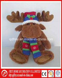 Christmas Baby Gift Toy of Plush Deer Toy pictures & photos