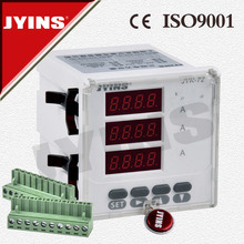 Three Phase Current Digital Panel Meter (JYK-72-3A) pictures & photos