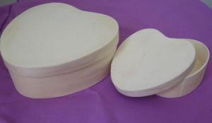 Hotsale Wood Heartshape Box pictures & photos