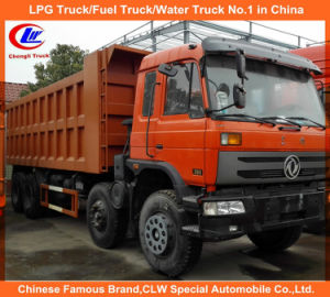 Heavy Duty 40ton 50ton 8X4 Dump Truck Dongfeng Tipper Truck with Cummins Engine pictures & photos