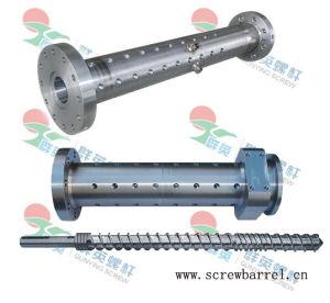 38crmoala Bimetallic Feed Screw Barrel for PVC Extruder Machines (QY-L026)