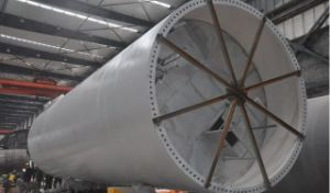 Wind Tower Pole (1-7.6m) pictures & photos