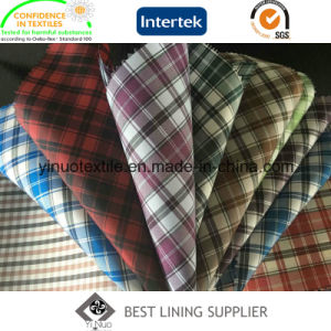 100% Polyester Classic Check Lining pictures & photos