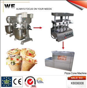 Complete Set Cone Pizza Machine (K8006008) pictures & photos