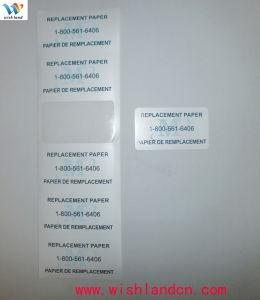 Custom Printed Paper Replacement Pet Self Adhesive Label