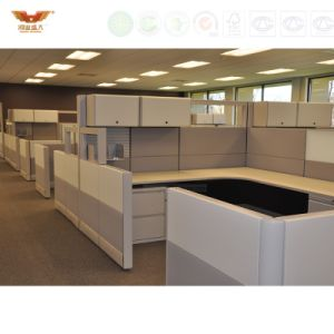 Modern Workplace Office Workstation Parition Cubicle for Office Furniture Fsc Forest Certified Approved by SGS Factory pictures & photos
