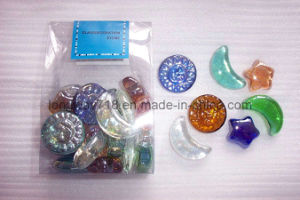 Iridized Glass Shapes (G2040)