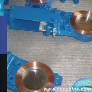 2′′~48′′ ANSI 150# Cast Iron Gg25 Wafer Knife Gate Valve pictures & photos