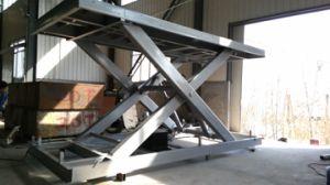 Good Quality Scissor Type Vehicle Lift pictures & photos
