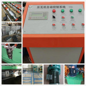 Glazed Tile Roofing Sheet Roll Forming Machine for Metal Corrugated Roof Panel pictures & photos