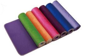 Fabric TPE Yoga Mat for Exercise 6mm pictures & photos