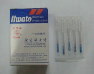 0.25X30mm Acupuncture Needle with Tube - Hwato Brand pictures & photos