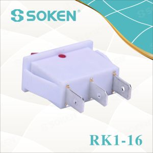 Soken Rk1-16 1X1n W/R on off Rocker Switch pictures & photos