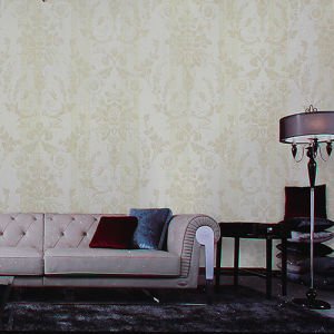 European Simplicity Style Non-Woven Wallpapers Decorative Wallpaper pictures & photos