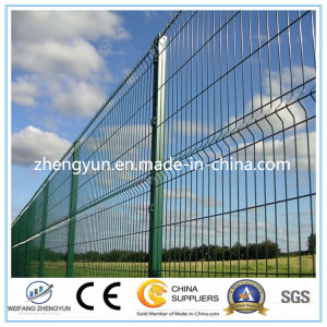 PVC Coated Welded Wire Mesh Panel Fence pictures & photos
