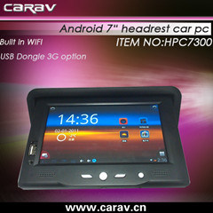 "7"" Headrest Car PC (with Google Android OS)"