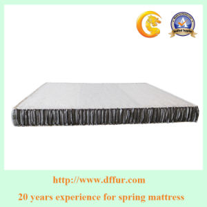 Pillow Top Memory Foam Bed Mattress with Mini Zone Pocket Coil Mattress pictures & photos