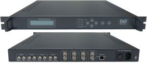 DVB-S2 4 Channels Satellite Receiver (FTA, 4 RF in and 4 ASI out)
