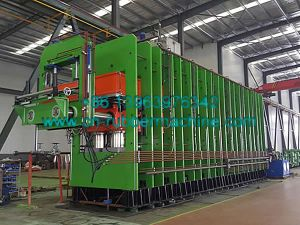Rubber Conveyor Belt Vulcanizing Press with Frame Construction, Ce, ISO pictures & photos