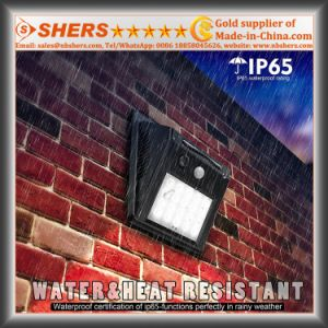 Solar Motion Wall Light with Adjustable Brightness, Dim Light Function pictures & photos