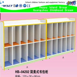 High Quality Kindergarten Schoolbag Ark Hot Sale Classroom Cabinet (HB-04102) pictures & photos
