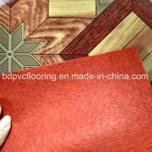70g 130g 150g Felt Back Flooring in Rolls pictures & photos