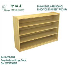 Best Star Kid′s Toy Storage Wooden Cabinet