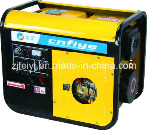 Fy-A0007 5kw Key Start Self-Excitation Open Diesel Generator pictures & photos