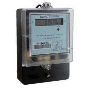 Single Phase LCD Watt Hour Electric Meter Measuring Instruments pictures & photos