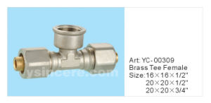 Brass Folding Compression Fittings for Pex-Al-Pex Pipes pictures & photos