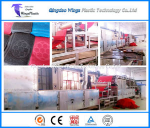 Plastic PVC Materials Coil Matting Flooring Roll Production Line / Making Machine pictures & photos