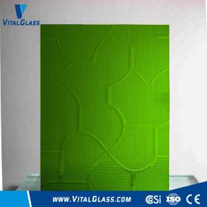 3-6mm Green Puzzle/Nsdhiji/Mistlite Patterned/Figured Glass with Ce&ISO9001 pictures & photos