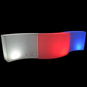 Mobile Bar Illuminated Modular Bar Wave Bar Curve Snake Bar pictures & photos