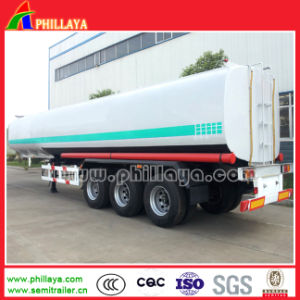 Tri Axle 50000 Liters Tanker Fuel Tank Truck Semi Trailer pictures & photos