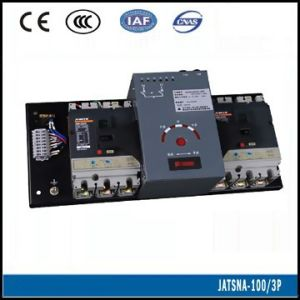 100A MCCB Type Manual and Automated Transfer Switch (JATSNA-100 3P) pictures & photos