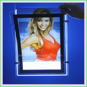 LED Backlit Poster Display Advertising Light Box (CDH03-A4P) pictures & photos